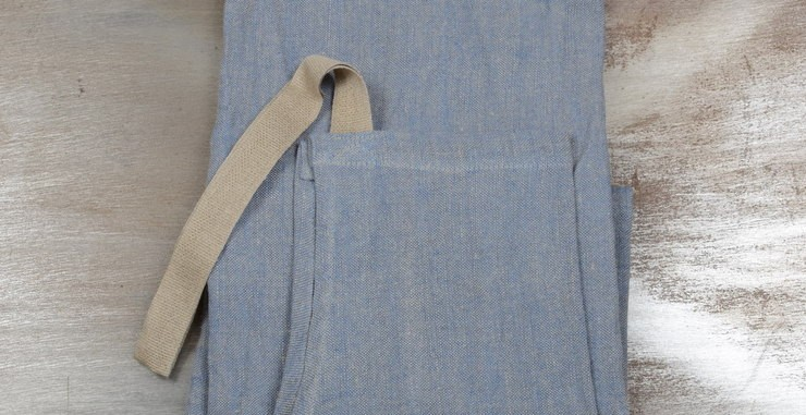 Apron For Him 100% Linen From Armentières