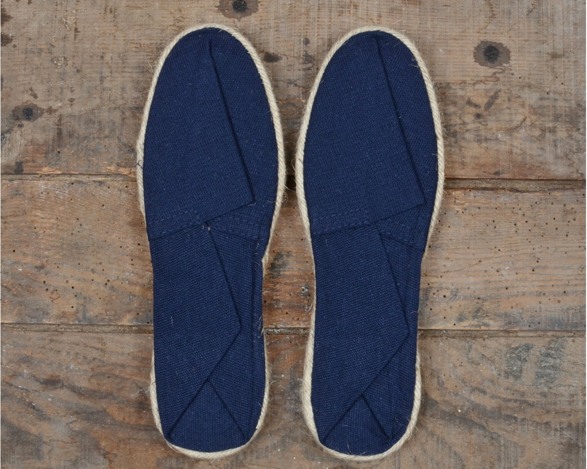 really cheap run shoes new appearance NAVY BLUE ESPADRILLES 100% Made in France - Vacances Françaises
