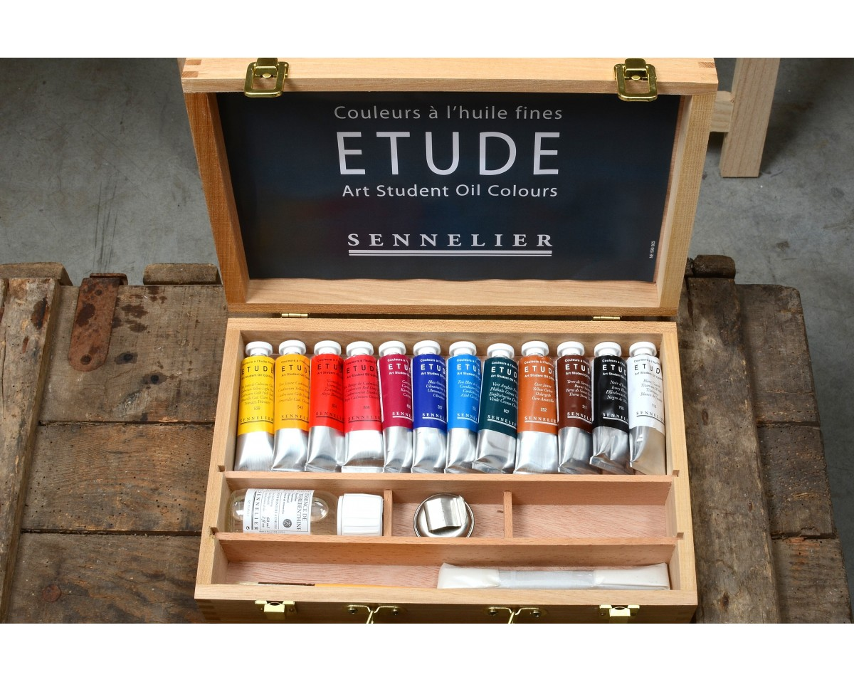 12 Oil Painting Tubes 100  Made In France