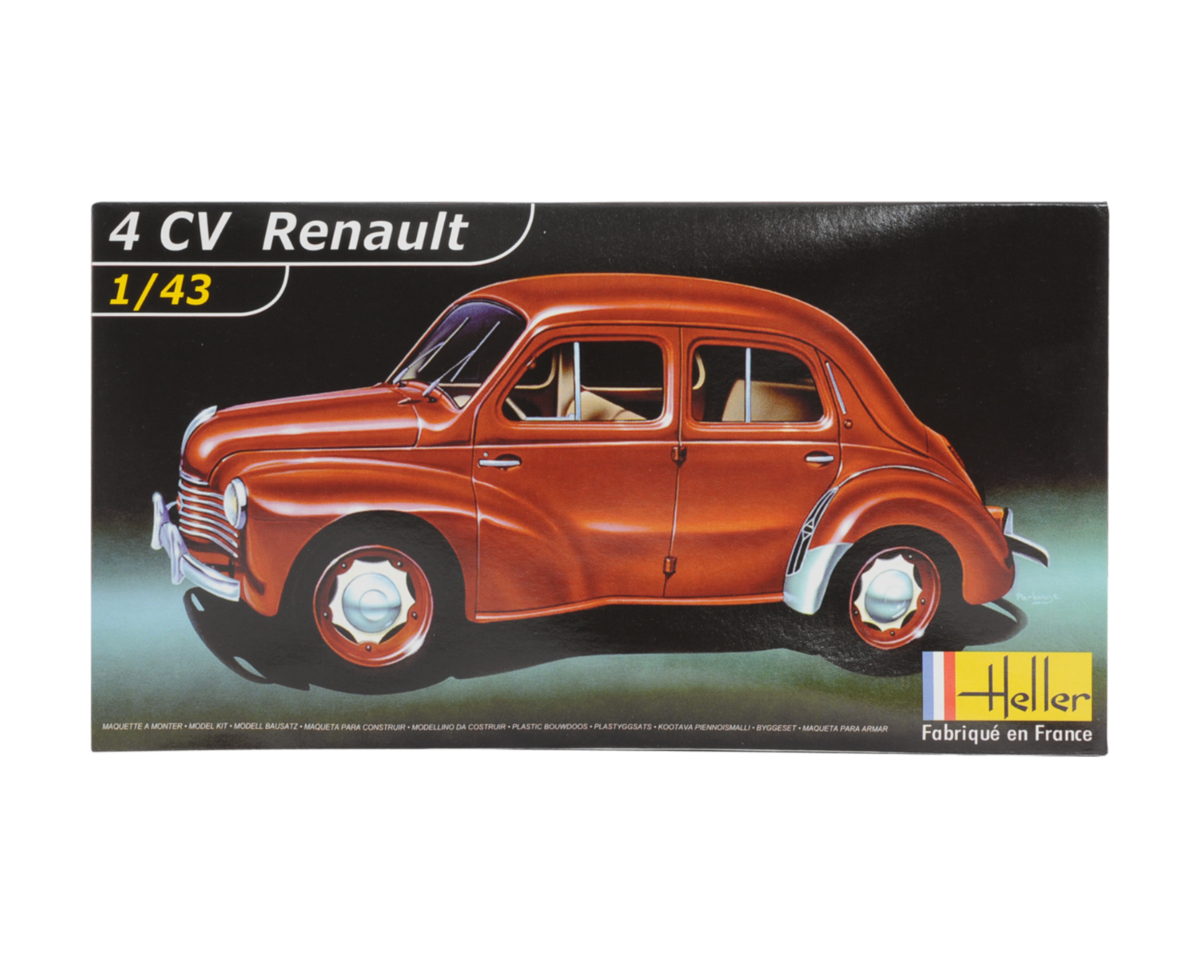 renault 4 cv version 1955 model 100  made in france